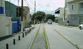 Varginha - Varginha-MG-Trilhos no centro da cidade-Foto:Robson Souza