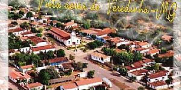 Vista aérea de Veredinha - MG