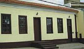 Viçosa - Fachada do primeiro hospital da cidade. Cortesia P. B. Fialho