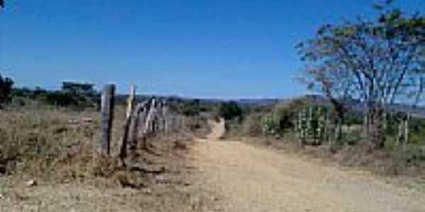 Estrada área rural-Foto:BvB