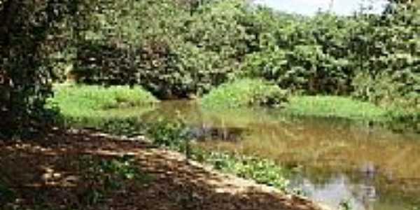 Riacho em Vila Nova dos Poções-Foto-Mundi - postada por:iara de oliveira