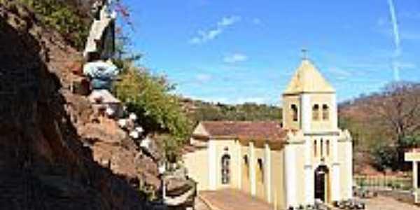 Virgem da Lapa-MG-Imagem e Igreja de N.Sra.da Lapa-Foto:Ernani J. De M.M.