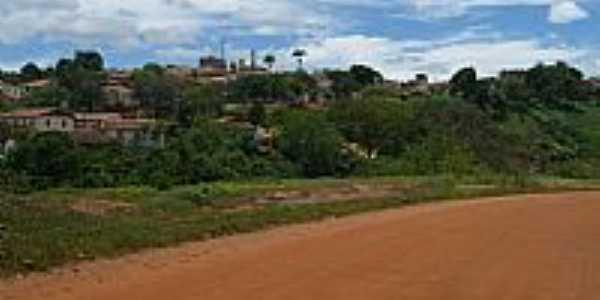Virgem da Lapa-MG-Vista parcial da cidade à partir da Rodovia-Foto:fwelber