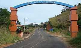 Virgol�ndia - Virgol�ndia-MG-P�rtico de entrada-Foto:Izaides