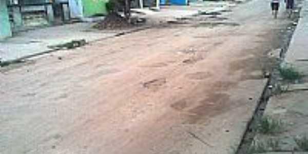 Avenida N.Sra.das Graças em Batingas-Foto:RobertaCaetano.