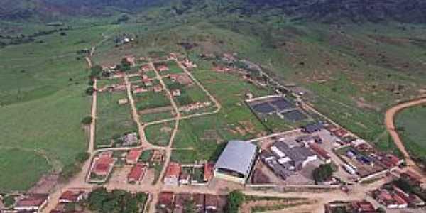 Batinga-BA-Vista aérea da cidade-Foto:Elnatan Lopes