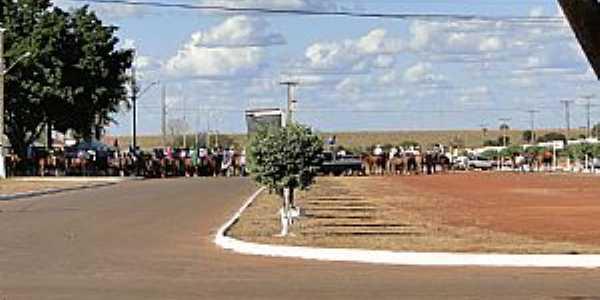 Água Boa-MS-Cavalgada em Água Boa-Foto:aguaboanewsimagens.blogspot.com.br