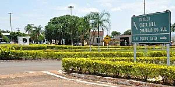 Imagens da cidade de Água Clara - MS