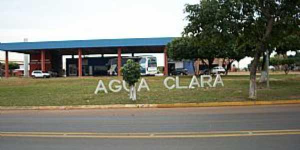 Água Clara-MS-Terminal Rodoviário-Foto:www.camaraaguaclara.