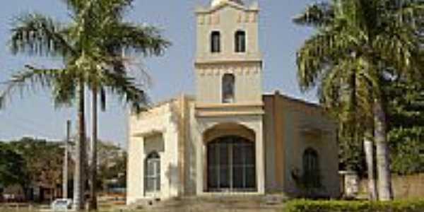 Igreja Matriz de Alcinópolis-Foto:Juvenal Coelho Ribei…