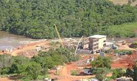 Alto Sucuriú - Alto Sucuriú-MS-Construção da Barragem-Foto:Ademar - Triunfo