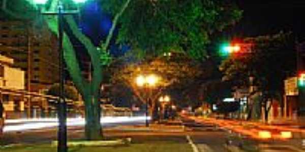 Vista noturna de Amambaí-Foto:Alexssandro Loyola