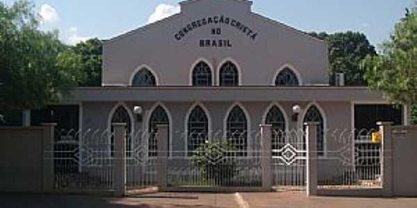 Amandina-MS-Igreja da Congregação Cristã do Brasil-Foto:NELSON BUCHINI