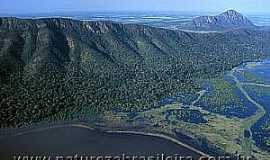 Amolar - Amolar-MS-Lagoa Mandioré-Foto:Natureza Brasileira