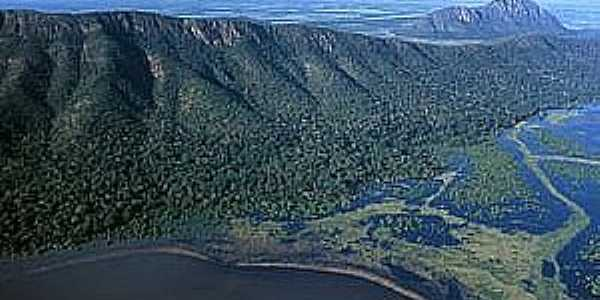 Amolar-MS-Lagoa Mandioré-Foto:Natureza Brasileira