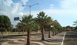 Anastácio - Anastácio-MS-Avenida principal-Foto:Lucas T. Souza