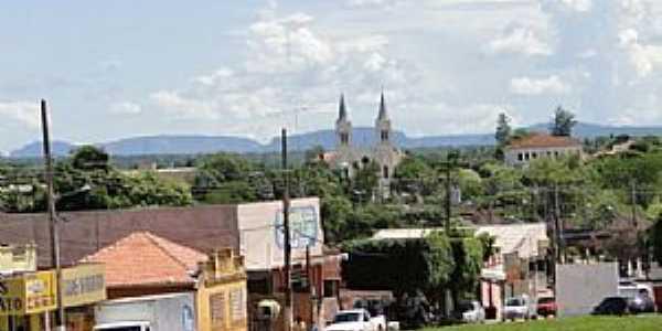 Anastácio-MS-Vista do centro da cidade-Foto:www.geraldoresende.