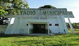 Anaurilândia - Anaurilândia-MS-Entrada do Estádio de Futebol Lázaro Severino da Silva-Foto:Idelfonso Alves