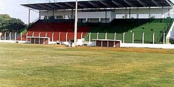 Anaurilândia-MS-Estádio de Futebol Lázaro Severino da Silva-Foto:Idelfonso Alves