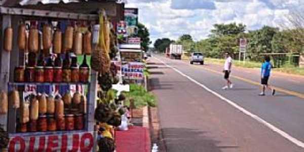 Imagens do Distrito de Anhandui - MS