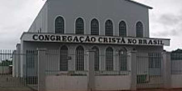 Antônio João-MS-Igreja da Congregação Cristã do Brasil-Foto:NELSON BUCHINI