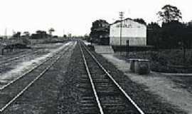 Arapuã - Estação Ferroviária-Foto:honda_terapia
