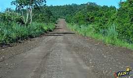 Areado - Areado-MS-Estrada de acesso ao Distrito-Foto:www.idest.com.br