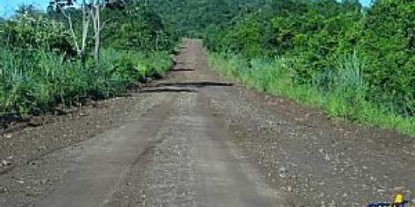 Areado-MS-Estrada de acesso ao Distrito-Foto:www.idest.com.br