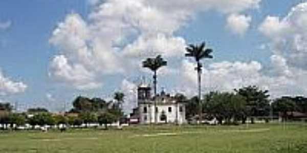 Vista da Igreja do Carmo em Belém da Cachoeira-Foto:fragatasurprise.