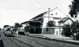 Bálsamo - A estação de Bálsamo em 1976-Foto:José H. Bellorio