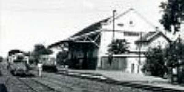 A estação de Bálsamo em 1976-Foto:José H. Bellorio
