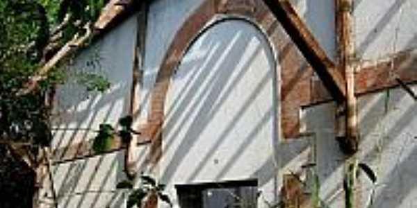 Fachada da antiga Estação de Bálsamo-Foto:timblindim.