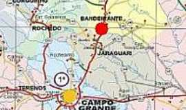 Bandeirantes - Mapa