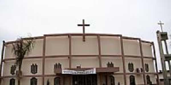 Matriz de São João Batista em  Bataguassu-MS-Foto:Vicente A. Queiroz
