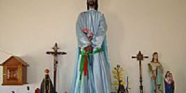 Senhor Bom Jesus da Capela de Baús-Foto:Juvenal Coelho Ribei…