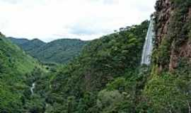 Bodoquena - Bodoquena-MS-Cachoeira Boca da Onça-Foto:Carlos A Machado