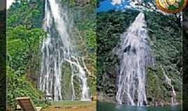 Bodoquena - Bodoquena-MS-Cachoeira Boca da Onça-Foto:eliasof