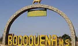 Bodoquena - Bodoquena-MS-Portal de entrada da cidade-Foto:André Bonacin