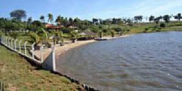 Lago da Fazendo Bom Jesus-Município de Jardim-Foto:Professor Alex