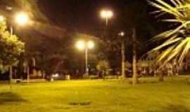 Caarapó - Praça central em Caarapó