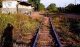 Camisão - Camisão-MS-A estação em 02/08/2010-Foto:Willian Ney Portela