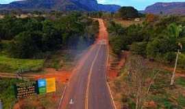 Camisão - Camisão-MS-Estrada sendo pavimentada-Foto:Chico Ribeiro