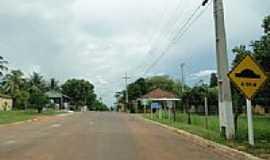Camisão - Entrada do Distrito de Camisão-MS-Foto:Carlos Morcego