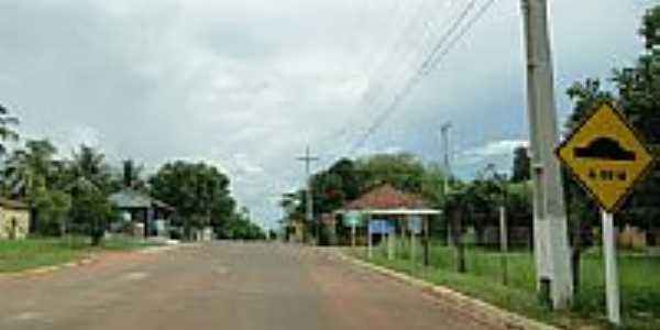 Entrada do Distrito de Camisão-MS-Foto:Carlos Morcego