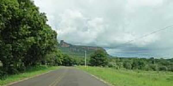 Rodovia Aquidauana/Cera próximo de Camisão-MS-Foto:Carlos Morcego