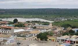Belo Campo - Belo Campo-BA-Vista da cidade e ao fundo o açude-Foto:Dablio Ferraz