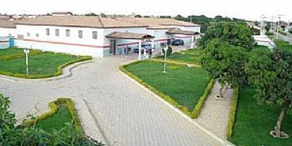 Belo Campo-BA-Hospital Municipal Vicente Vieira-Foto:Dablio Ferraz