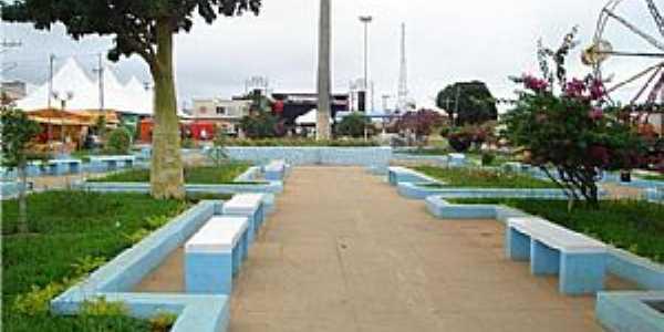 Belo Campo-BA-Praça da Prefeitura-Foto:Dablio Ferraz