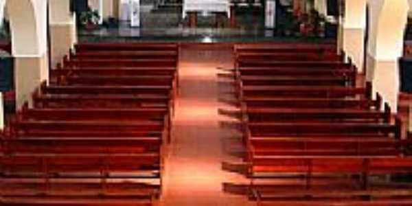Interior da Igreja de N.Sra.do Perpétuo Socorro em Campo Grande-MS-Foto:Jefferson França