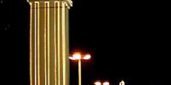 Relógio central em Campo Grande-MS-Foto:Jefferson França
